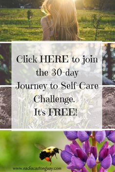Do you need to learn how to take care of YOU? Do you wish you could just take a few minutes to sit down and recharge your batteries? Do you want to learn how you can do this without adding busy-ness to your very busy life? If the answers were YES, YES and YES you are at the right place!!! Join the 30-day Journey to self-care challenge to discover how easy self-care can be!