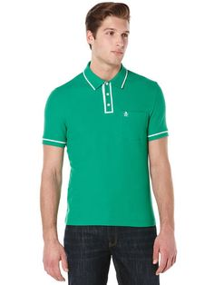 Mens Polo Shirts - Original Penguin