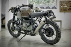 """BMW R100 """"Espresso"""" {I want those pipes!!}"""