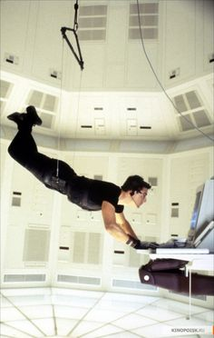 """Tom Cruise as Ethan Hunt in """"Mission: Impossible"""" (1996)"""
