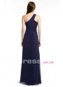 A-Line One shoulder dress