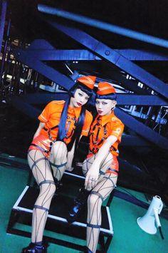 AyaBambi Fans Japanese Streets, Japanese Street Fashion, Aya Sato And Bambi, Editorial Photography, Fashion Photography, Shiina Ringo, Engagement Couple, Cute Couples, Flower Power