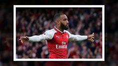 Arsenal 4 Leicester 3: Alexandre Lacazette makes dream start as Gunners fight back in