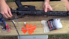 How To Clean & Lubricate Your AR-15 Series Rifle | #SurvivalLife www.SurvivalLife.com