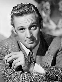 William Holden.. brautiful face.. until alcoholism destroyed his youth, health and looks