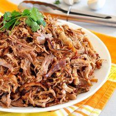 Pork Carnitas Mexican Slow Cooker Pulled Pork