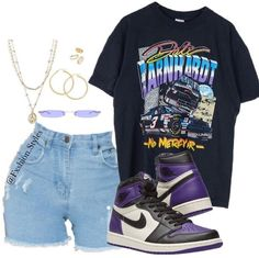 Swag Outfits For Girls, Cute Swag Outfits, Cute Comfy Outfits, Teen Fashion Outfits, Teenager Outfits, Edgy Outfits, Retro Outfits, Teenage Girl Outfits, Dope Fashion