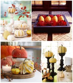fall table scapes