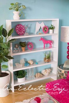 Diy dollhouse shelf Barbie