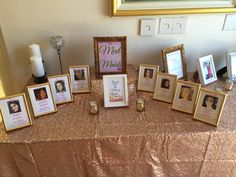 Meet the Maids. Pink and gold. Meet the Maids. Pink and gold. Western Bridal Showers, White Bridal Shower, Bridal Shower Tables, Tea Party Bridal Shower, Gold Bridal Showers, Bridal Shower Favors, Bridal Shower Invitations, Bridal Shower Table Decorations, Party Centerpieces