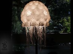 3D Printed Jellyfish Lampshade by unellenu