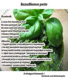 Bazsalikomos Pesto Pesto, Stuffed Peppers, Vegetables, Food, Stuffed Pepper, Vegetable Recipes, Eten, Stuffed Sweet Peppers, Veggie Food