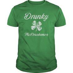 Show your Drunky Mc St Pats shirt - Wear it Proud, Wear it Loud!
