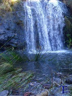 #Spain #Canarias #GranCanaria Cascada en el barranco de Guayedra