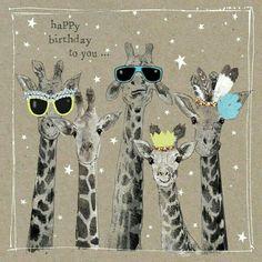 HBD giraffes