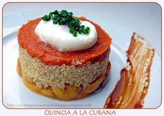 quinoa a la cubana