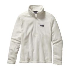 Patagonia Women\'s Micro D\u00AE 1\/4-Zip Fleece - Birch White BCW