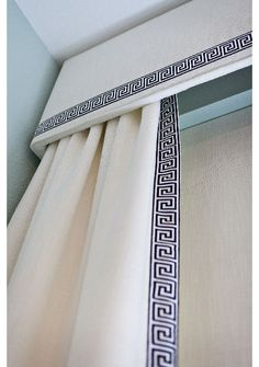 Bay Window Shades Cornice Box Custom Fabric custom length width Navy w – JLL HOME Cornice Box, Window Cornices, Window Coverings, Window Treatments, Cornice Boards, Cornice Ideas, Box Valance, Window Boards, Window Drapes