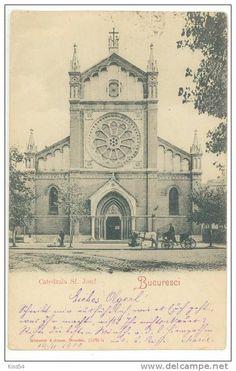 Bucuresti - Catedrala Sf Iosif - 1900