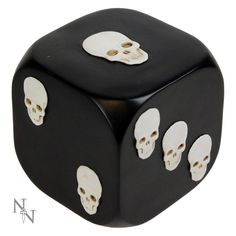 a stunning Nemesis Now Gothic Doorstop/Paperweight entitled Dice with Death. It is a large weighted dice with skulls instead of dots !