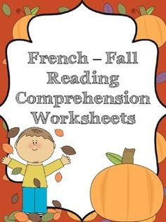 french reading comprehension worksheets spring french learning pinterest spring reading. Black Bedroom Furniture Sets. Home Design Ideas