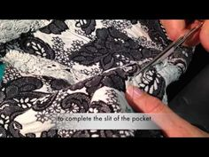 ▶ How to sew a jetted flap pocket - Marfy pattern 3022 - YouTube