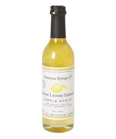 Meyer Lemon Artisan-Infused Simple Syrup by Sonoma Syrup Co. #zulily #zulilyfinds