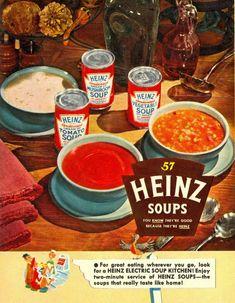 Heinz soep 1952