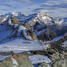 #view from and to the #southern #alps of the #wallis with #weissmies in the #center and a #beautiful #illumination and #remarkable #clouds;  #saasfee #stilllife #attraction #beauty #lifestyle #hike #wilderness #presence #meditation #hiking #travelling #journey #tourism #switzerland #mittelalanin #healthy #balanced #aera
