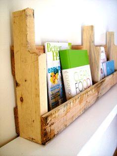 "The Best tips and tutorials for ""How to make a SHELF"" - The Original Pallet Shelf Tutorial"