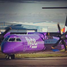 Flybe DHC-8 by melaniew2000 @melaniew2000 | Websta (Webstagram)
