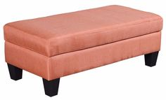 Meseta Classic Fabric Storage Bench / Ottoman