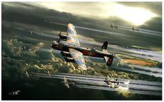 Thousand Bomber Raid by PetervanStigt on deviantART