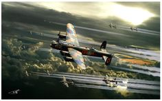 Thousand Bomber Raid by PetervanStigt on deviantART