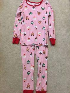 Glorious Baby Gap Nwt Girls 2pc Pajamas Sleepwear 5yrs Pjs Puppy & Bows New Baby & Toddler Clothing