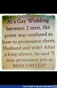 "This is ""Man United""  http://www.trollfootball.me/display.php?id=15892  #football #soccer #Trollfootball #ManUnited #MUFC #MU #ManchesterUnited #GayMarriage #Gay #Fun"