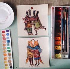 Скетчбук от художницы Tania Samoshkina SKRMASTER.RU — Handmade ярмарка России