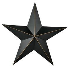 metal star wall art  Home Improvement 11 Rustic Black Primitive Metal Barn Star Wall Decor