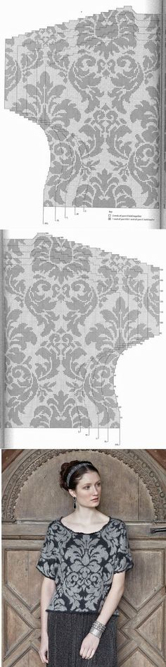 443ee8e1822a8ed64bba3c30f3955e13--rowan-knitting-knitting-charts.jpg (447×1790)