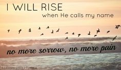 """b-lessed-love: """" """"I will rise, when he calls my name. No more sorrow, no more pain. I will rise, on eagles wings. Before my God, fall on my knees. and rise"""" ♥ I will Rise - Chris Tomlin """" I Will Rise. Image Beautiful, Beautiful Places, Beautiful Sky, Simply Beautiful, I Will Rise, Religion Catolica, I Love The Beach, Tumblr Photography, Ocean Photography"""