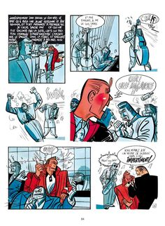 Serge Clerc, Phil Perfect, La nuit du Mocambo, page Ligne Claire, Comic Page, Comic Artist, Storyboard, Outline, Storytelling, Illustration, Japanese, Comics