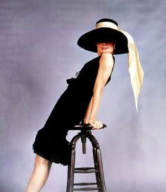 A rarely seen promotional shot of Audrey for 'Breakfast At Tiffany's' (1961)