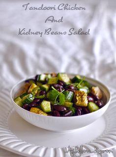 Tandoori Chicken and Beans Salad