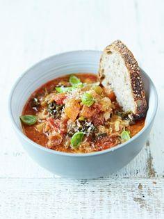 Minestrone Soup | Food Revolution | Jamie Oliver