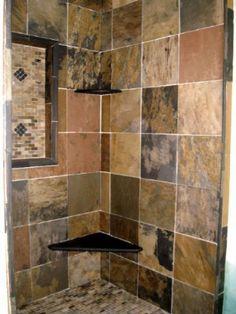 Color slate bathroom--boys?  @Traci Puk Love