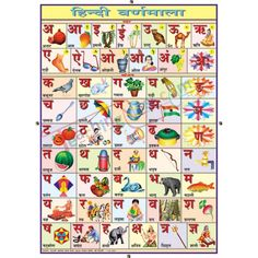 hindi alphabet order Gallery