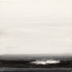 John Virtue: North Sea Paintings and Monotypes @ Marlborough Fine Art - Eloge de l'Art par Alain Truong Abstract Landscape, Landscape Paintings, Abstract Art, Sea Paintings, Illustrations, Illustration Art, Artist Workshop, Graphic, Land Scape