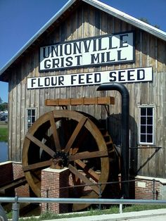 Grist mill at Symco Wi.