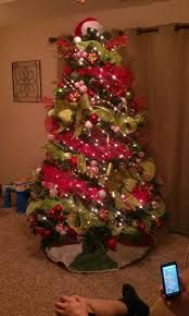 red white christmas tree ideas - Google Search