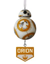 Star Wars™ BB8™ Personalized Ornament